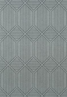 NOAM, Black, Collection Modern Resource from Thibaut Mosaic Patterns, Pattern Art, Pattern Design, Textured Wallpaper, Geometric Wallpaper Texture, Textures Patterns, Print Patterns, Cladding Design, Geometric Background