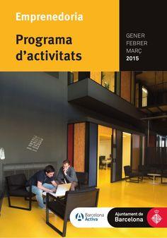 Programa activitat #bcnemprenedoria @barcelonactiva #hivernemprenedor'15