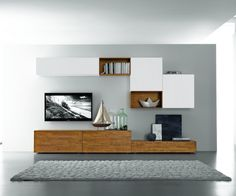 Amazing 38 Fantastic Living Room Wall Decor Ideas To Copy Asap Chic Living Room, Living Room Modern, Living Room Designs, Living Room Decor, Modern Tv Wall, Modern Tv Cabinet, Tv Wall Decor, Wall Tv, Muebles Living