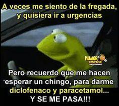 JOJOJO CUALQUIER SEMEJANZA CON LA REALIDAD ES MERA COINCIDENCIA Nurse Quotes, Jokes Quotes, Mexican Memes, Kermit The Frog, Humor Grafico, Funny Memes, Lol, Laughing, Snoopy