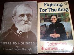 Both of these people were well respected preachers, workers and writers in the Salvation Army. Catherine Booth is the grand daughter of William Booth, founder of the Salvation Army. Her book of poems is beautiful. Brengle's books are inspiring.