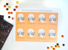Whether you need something for a preschool class or a Halloween party, this little tag is the perfect way to say Happy Halloween to all your little Boos. Halloween Tags, Halloween Ideas, Happy Halloween, Halloween Party, Preschool Class, Project Nursery, Party Guests, Have Some Fun, Toddler Crafts