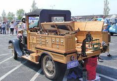 The Huckster as tool truck.