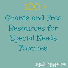 Are you a family of a child with special or medical needs? Do you know someone who is? Then this is the must have resource for grants for medical equipment such as wheelchairs or adaptive bikes, grants to help with medical costs, wish organizations and other ways you can brighten up your child's day. I...Read More »
