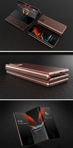 Samsung is rumored to be working on a dual-hinge folding Galaxy smartphone with a sliding keyboard!
