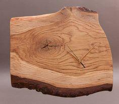 Natural Bark Edge Wooden Wall Clock