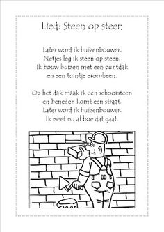 de kikkervriendjes: liedjes bouwen Learn Dutch, Bob The Builder, Coloring Pages, School Ideas, Kids, Living Room Ideas, Money, Bed Room, Quote Coloring Pages