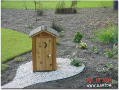 1 3 Scale Pump Cover Outhouse Well Water House