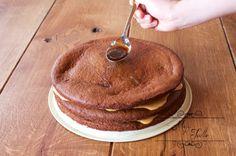 DOMÁCA KAKAOVÁ MARLENKA Pancakes, Breakfast, Food, Morning Coffee, Essen, Pancake, Meals, Yemek, Eten
