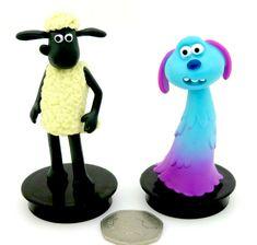 Toppers set Shaun the Sheep Movie: Farmageddon Cinema Cup 2 Toppers Shaun Lu-La Sheep Cake, Mcdonalds Toys, Cute Alien, Shaun The Sheep, Celebration Cakes, Cake Toppers, Cinema, Amp, Friends