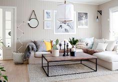 Mieszkanie w duńskim klimacie | Bajkowe Wnętrza