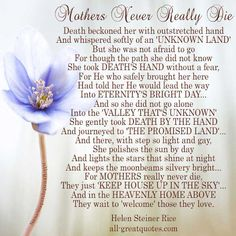 S in heaven poems loss of mother quotes, mother quote Grief Poems, Mom Poems, Mother Poems, Loss Of Mother Quotes, Mothers Day Quotes, Mom Quotes, Mom And Daughter Quotes, I Miss My Mom, Love You Mom