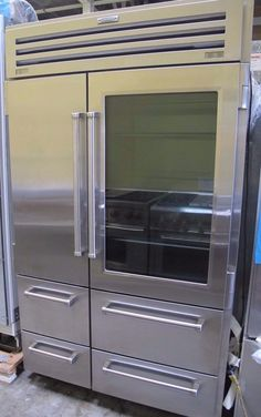 """Sub-Zero 648PROG 48"""" Built-in Side-by-Side Refrigerator Stainless Steel #SubZero"""