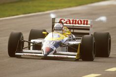 Nigel Mansell's title hopes end when he is injured in practice at Suzuka, confirming Nelson Piquet as champion , 1985