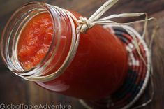 Papya Chutney, could easily sub the refined sugar