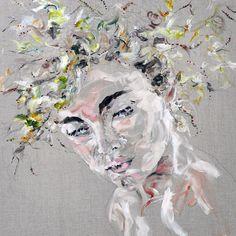 Paintings by Toronto based artist Judith Geher, featured on Studded Hearts.