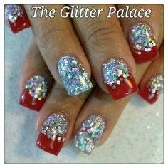 #kristalglittergirlnailsbarnett #9166700010 #theglitterpalace #theglittergirl…