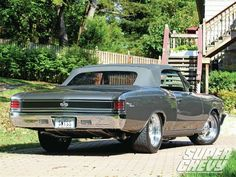 1967 Chevelle SS #ClassicCars #CTins