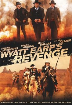 Wyatt Earp's Revenge (2012)   http://www.getgrandmovies.top/movies/38830-wyatt-earp's-revenge   Wyatt Earp is approached by a journalist for an interview about how he became a famous sheriff. Earp told the story of how he was a fearless U.S. Marshall. If 27-year old Wyatt Earp comes out that his first girlfriend Dora Hand was murdered. Together with his friend Doc Holliday, Bat Masterson, Bill Tilghman and Charlie Bassett he goes hunting for the perpetrator ...
