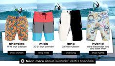 B/W Boardshorts