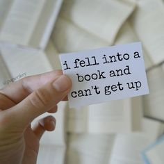 When it's a really good book...