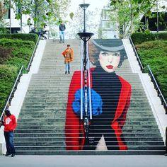 """Paris 13e - Rue du Chevaleret - Zag & Sia """"La Parisienne"""""""