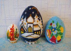 Ночь перед Рождеством | biser.info - всё о бисере и бисерном творчестве