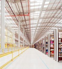 1 | Think Your Office Is Soulless? Check Out This Amazon Fulfillment Center | Co.Design: business + innovation + design