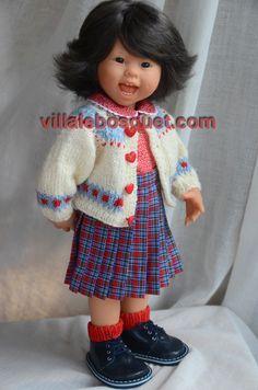 Les adorables poupées Müller Wichtel sur notre site villalebosquet.com!