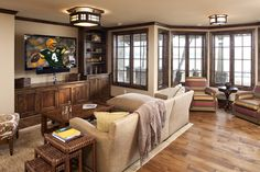 Stained Wood Crown Molding Design, Pictures, Remodel, Decor and Ideas