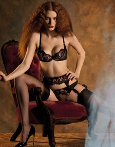 9c5a00951a agent provocateur Selena Bra   Brief or Thong Size 2 or Black