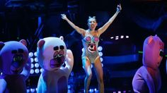 """Solidarity is For Miley Cyrus: The Racial Implications of her VMA Performance: """"Okay.... but can we talk about the problematic and racist nature of her performance? Her literal use of people as props? Her association of her newfound sexuality with the traditional codifiers of black female culture, thereby perpetuating the Jezebel stereotype that black women are lewd, lascivious and uncontrollably sexualized? Can we talk about the straight up minstrelsy of that performance?"""""""
