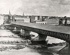 First Pearl Street Bridge - 1874