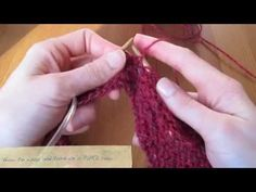 Learn how to create short rows in your hand knitting using a ' wrap and turn' technique. Short rows allow you to create different shapes within your knitting. Knitting Short Rows, Hand Knitting, Quick Knits, Knit Shorts, Bandana, Cowl, Crocheting, Free Pattern, Knit Crochet