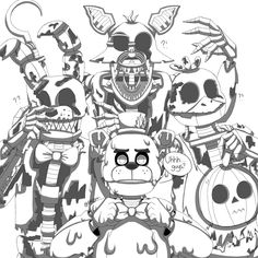 Five Nights At Freddy's, Fnaf Coloring Pages, Foxy And Mangle, Fnaf Wallpapers, Amazing Minecraft, Fandom, Fnaf Drawings, Man On The Moon, Funny Comics