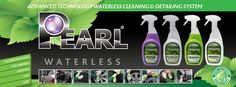 Pearl Waterless Wash & Detailing Products... Full Throttle to Maximum Shine.