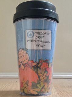 #Snoopy #Peanuts #Linus - Proteïne pompoen shake