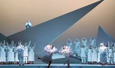 "Viktor & Rolf's costume designs for ""Der Freischütz"" Photo by Lesley Leslie-Spinks"