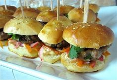 Banh Mi Sliders recipe + step-by-step photos. Make these for Super Bowl & you'll be the hit of the party!