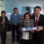 Se entregaron 150 netbooks a estudiantes de Amadores y La Merced