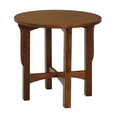 """Crystal Valley Hardwoods Landmark Round End Table no drawer Size: 26"""" x 26"""" $199.00"""