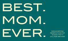 Join us for Sunday Brunch on 5/11/14. Celebrate Mom! #lagrandeorangecafe #oldpas
