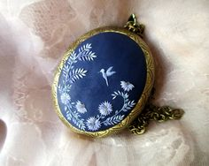 Made to Order Hummingbird Polymer Clay by StoriesMadeByHands