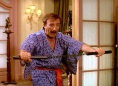 Peter Sellers as Inspector Clouseau  Kato!!!!  Ah,haa,haa!