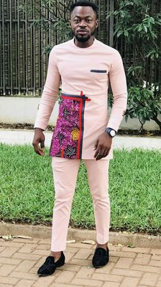 Jayray Fashion - Wedding And Engagement African Wear Styles For Men, African Shirts For Men, African Dresses Men, African Attire For Men, African Clothing For Men, Mens Clothing Styles, African Outfits, Men's Clothing, Nigerian Outfits
