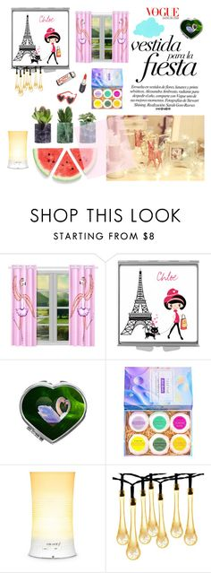 Girly Decor by ioakleaf on Polyvore featuring interior, interiors, interior design, home, home decor, interior decorating and ban.do