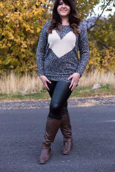 Plus Size Faux Leather Leggings, $16.00 (http://www.mysisterscloset-boutique.com/faux-leather-leggings/)