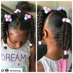 "Today is .so we have gym hair per her request 🤷🏾‍♀️🤣 No bows, barrettes, or beads. Just ole skool ""knockers"" 🤣😂 and scrunches. Styled with our Whipped Mango Butter, edges laid w/ and a little added shine from Lil Girl Hairstyles, Natural Hairstyles For Kids, Kids Braided Hairstyles, Childrens Hairstyles, Toddler Hairstyles, Black Children Hairstyles, Short Haircuts, Mixed Kids Hairstyles, Quince Hairstyles"