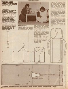 """Vintage DIY, sewing, knitting, creative leisure, 70s: Easy sewing """"Dresses quickly sewn"""""""