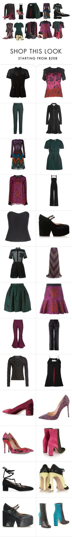 """""""Untitled #4191"""" by luciana-boneca on Polyvore featuring Mary Katrantzou and J.Crew"""